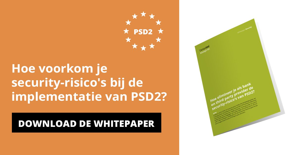 Whitepaper PSD2 security-risico's